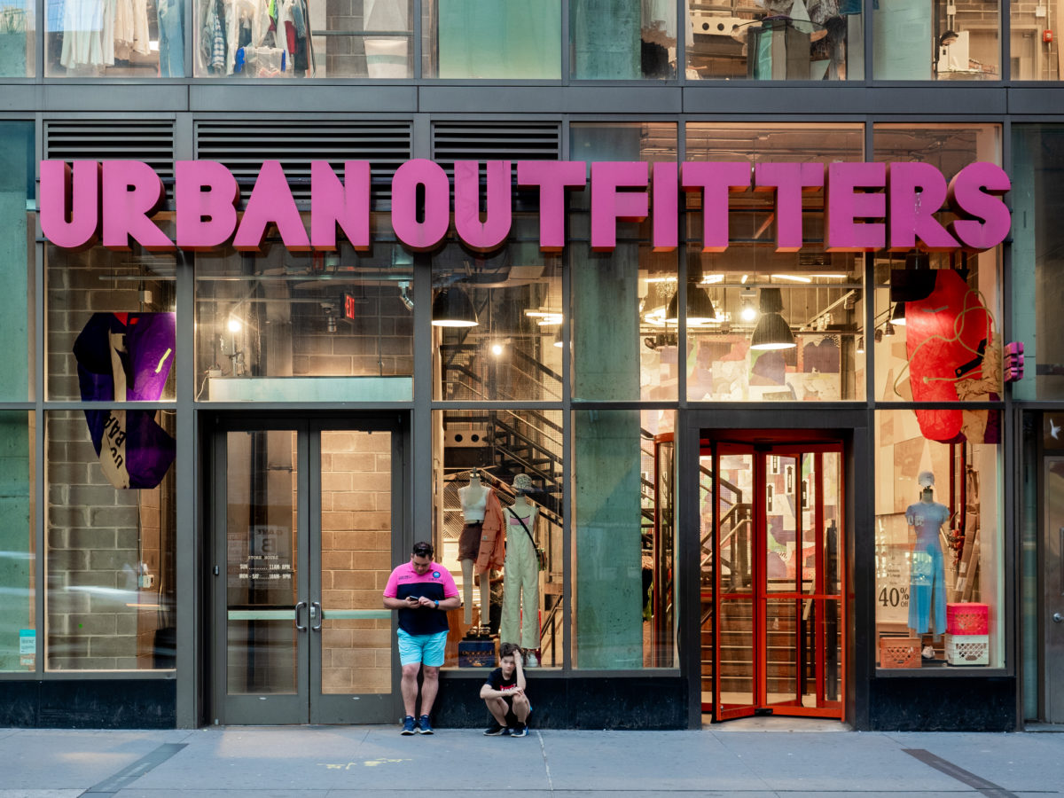 Urban Outfitters Storefront
