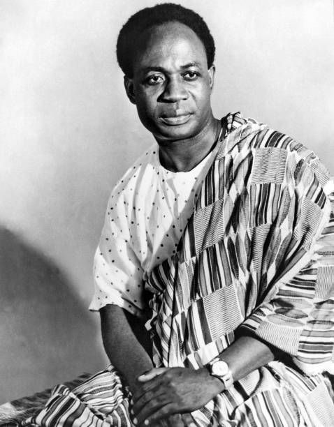 First President of Independent Ghana - Kwama Nkrumah