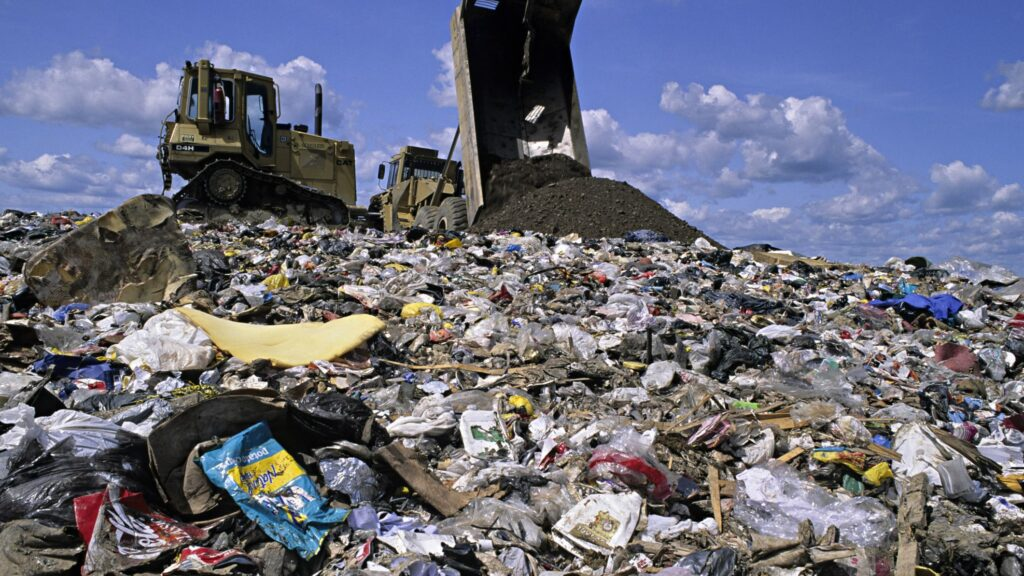 landfill site climate change